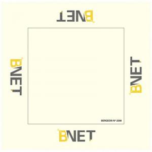Tissu B-Net, 33 x 33 cm