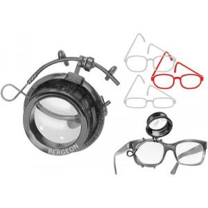 Loupe à droite pour lunettes ARY standard No 2,5, grossissement 4 x