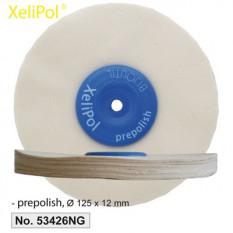 XeliLPol prepolish, Ø 125x12mmdisque, toile rude