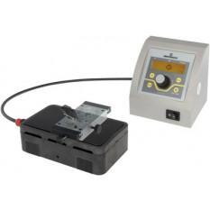 Réchaud à température variable régulée avec commande digitale programmable