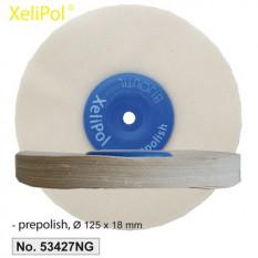 XeliLPol prepolish, Ø 125x18mmdisque, toile rude