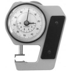 Micromètre-comparateur avec palpeur spéciaux pour mesurer les pièces fixées au tour, capacité jusqu'à 10 mm