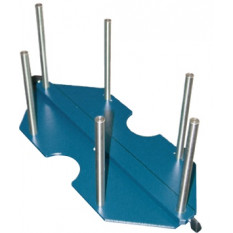 Bras avec support pour 6 boîtes plastiques 5462-A