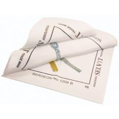 Tissu Selvyt PR, en coton blanc, 25 x 25 cm