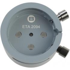 Porte-mouvement spécifique ETA 2094, calibre 10 1/2''', en aluminium anodisé