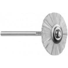 Petite brosse en crin rude, Ø 22 mm, sur tige Ø 2.35 mm