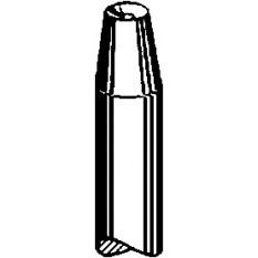 Rivoir concave, percé, Ø trou 1.00, Ø ext. 3.20 mm
