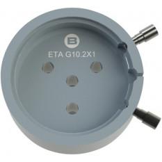 Porte-mouvement spécifique ETA G10.211, calibre 13 1/4''', en aluminium anodisé