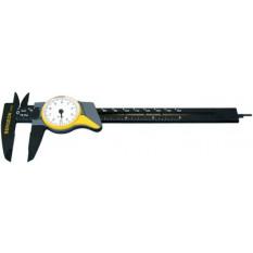 Pied à coulisse à cadran, graduation du cadran 0.1 mm, capacité 150 mm, longueur 224 mm