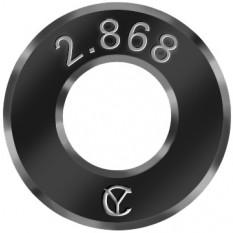 Jauge bague en métal dur (carbure de tungstène)