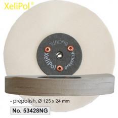 XeliLPol prepolish, Ø 125x24mmdisque, toile rude