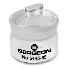 Benzinière avec couvercle rodé, hauteur 30 mm, Ø 35 mm