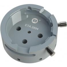 Porte-mouvement spécifique ETA 2894-2, calibre 12 1/2''', en aluminium anodisé