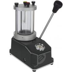 Appareil pour contrôle étanchéité à pression d'air cylindre, Ø 70 mm, capacité jusqu'à 10 bar