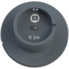 Porte-mouvement standard Bergeon, calibre 6 3/4''', en aluminium anodisé
