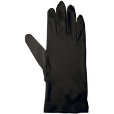 Gants en microfibre, couleur noir, taille S