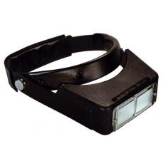 Loupe binoculaire à visière mobile Optivisor, distance focale 23 cm, grossissement 2,50 x