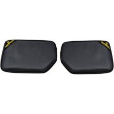 Paire d'accoudoirs ergonomiques anti-dérapant en simili cuir avec rembourrage en silicone, 280 x 180 x 25 cm