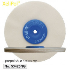 XeliLPol prepolish, Ø 125x6mmdisque, toile rude