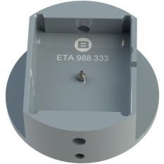 Porte-mouvement spécifique ETA 988.333, calibre 9 3/4''' x 11 1/2''', en aluminium anodisé