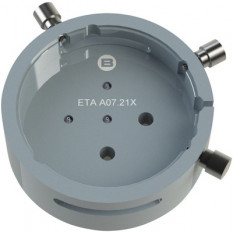 Porte-mouvement spécifique ETA A07.211/213, calibre 16 1/2''', en aluminium anodisé