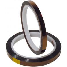 Scotch Kapton pour protection de surface de polissage, épaisseur 60 µm, largeur 5 mm, 33 m