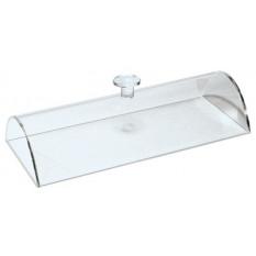 Cloche cache-poussière en plexi transparent, 90 x 225 x 43 mm