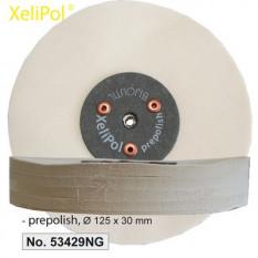 XeliLPol prepolish, Ø 125x30mmdisque, toile rude