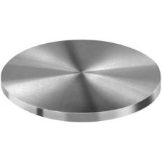 Table en acier trempé rectifié, Ø 50 mm