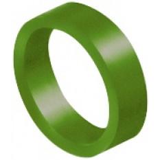 Bague d'identification vert-foncé, en aluminium anodisé, Ø 2.00 mm