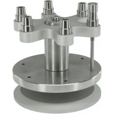 Potence multi-broches avec butée micrométrique, rotative pour pointage, perçage, alésage, fraisage, déchassage, rivetage.