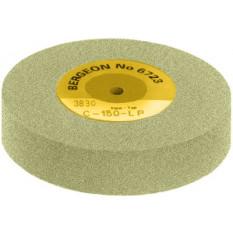 Meule souple en carbure de silicium, Ø 100 mm, épaisseur 20 mm, trou Ø 6 mm, grain 150 tendre