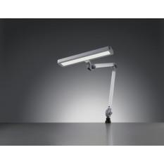 Lampe Waldmann ALD, articulation de tête 3D, bras en aluminium anodisé, variateur de l'intensité de l'éclairage, anti-éblouissement, 16 W, 100 - 240 V