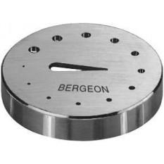 Plaque à trous en acier inox, Ø 35 mm