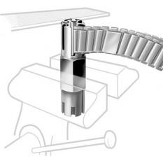 Outil à limer les anses de bracelets métal pour 2 diamètres et 6 longueurs différentes