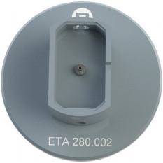 Porte-mouvement spécifique ETA 280.002, calibre 3 3/4''' x 6 3/4''', en aluminium anodisé
