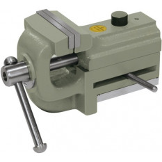 Bench-removable vice, with smooth, parallel jaws, opening: 0 - 35 mm, width 45 mm