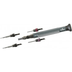 Precision screwdriver and assorted quick adapters HORLOGERIE