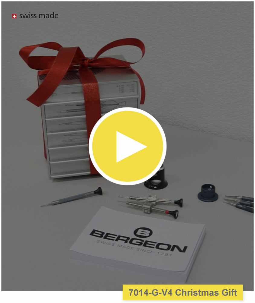 Newsletter Bergeon - Réf. 7014-G-V4 Christmas Gift